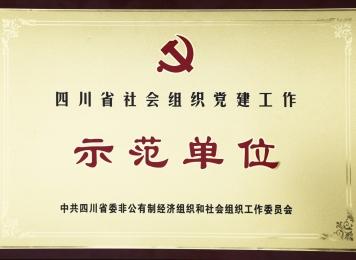 四川省社会组织党建工作示范单位