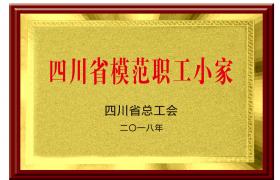 四川省模范职工小家2018